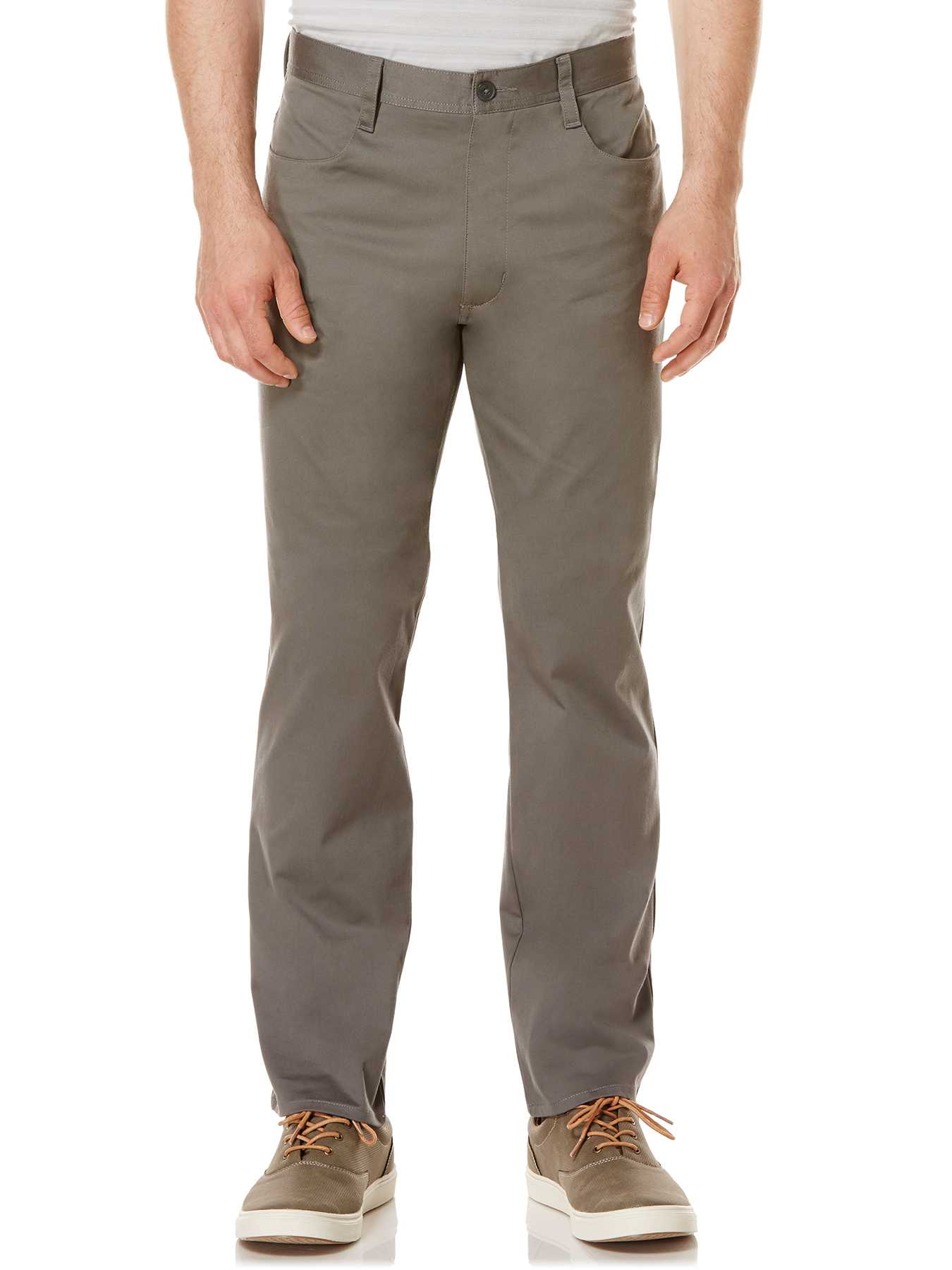 Perry Ellis Big and Tall Sateen Twill Pant