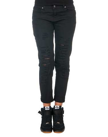ESSENTIALS WOMENS Black Clothing / Bottoms