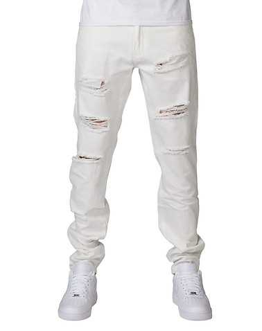 CRYSP MENS White Clothing / Jeans