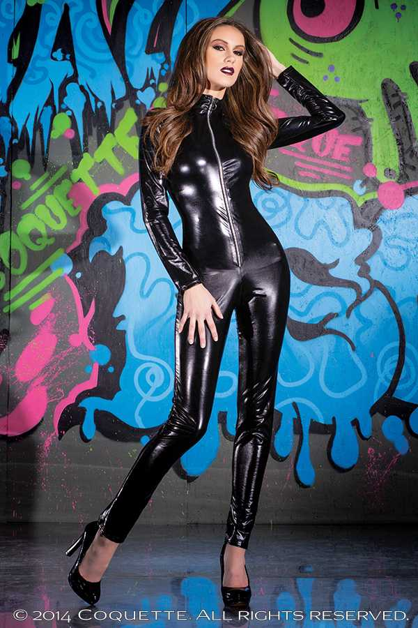 Black Catsuit Outfit