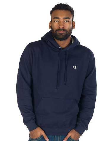 CHAMPION MENS Navy Clothing / Hoodies L