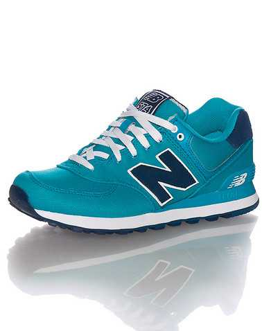 NEW BALANCE WOMENS Blue Footwear / Sneakers 8