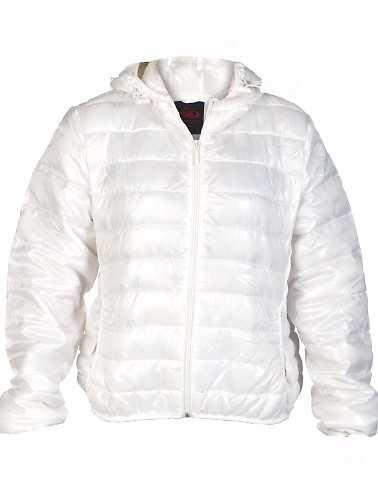 ESSENTIALS WOMENS White Clothing / Heavy Jackets M