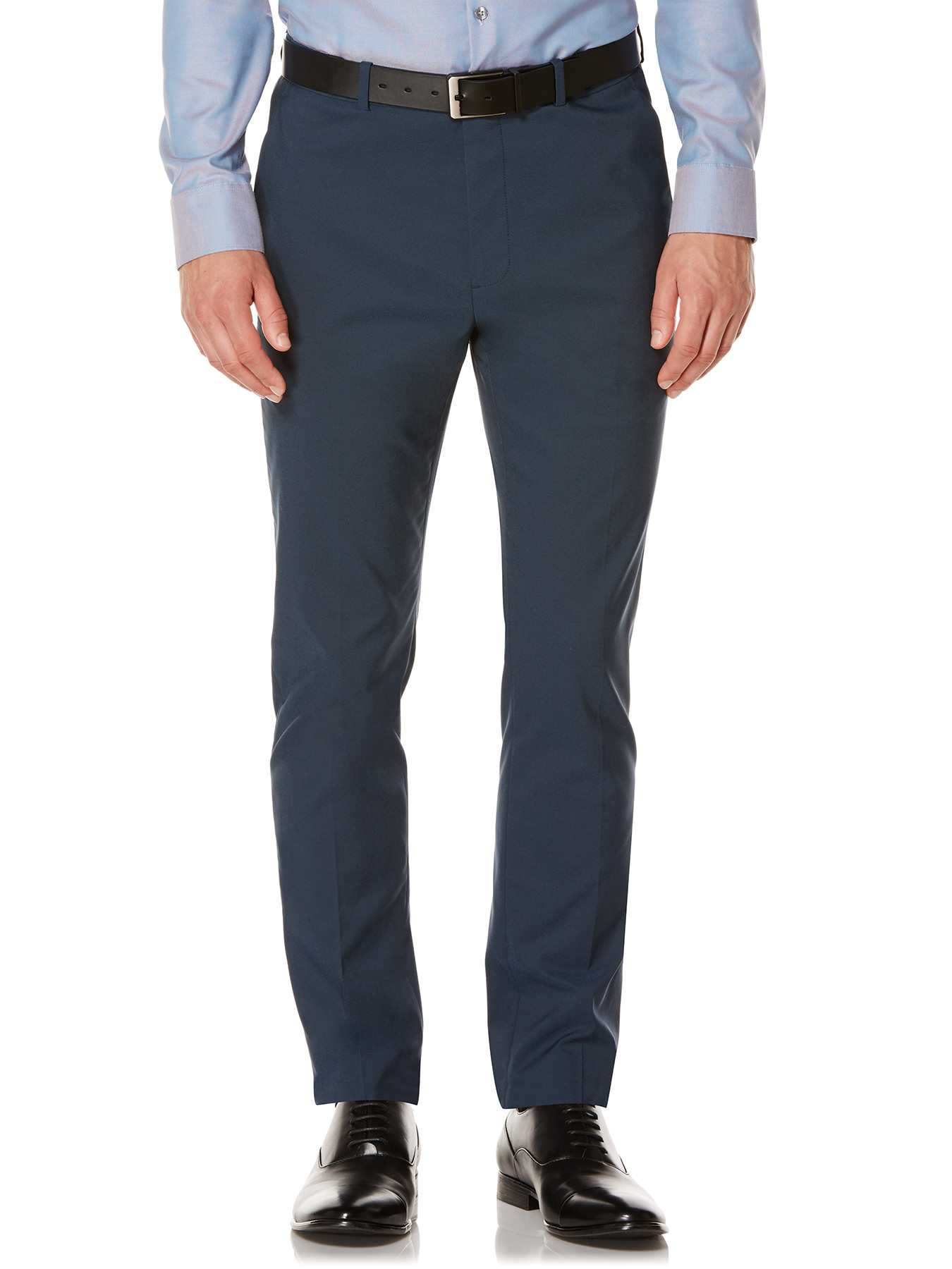 Perry Ellis Very Slim Iridescent Twill Suit Pant