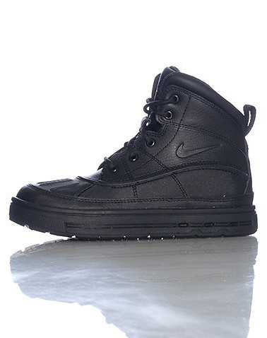 NIKE BOYS Black Footwear / Boots