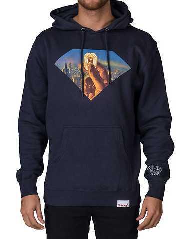 DIAMOND SUPPLY COMPANY MENS Navy Clothing / Sweatshirts