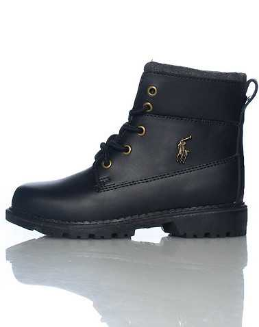 POLO FOOTWEAR BOYS Black Footwear / Boots 5