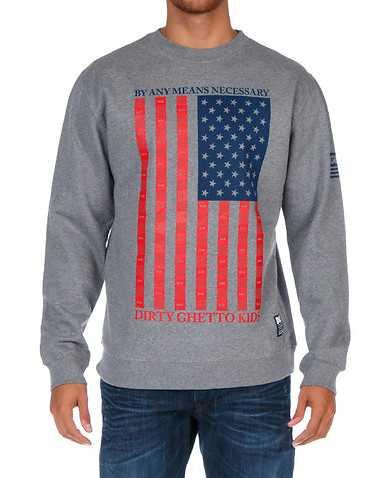 DGK MENS Grey Clothing / Sweatshirts S
