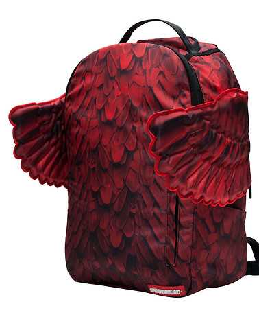SPRAYGROUND MENS Red Accessories / Backpacks and Bags ONES