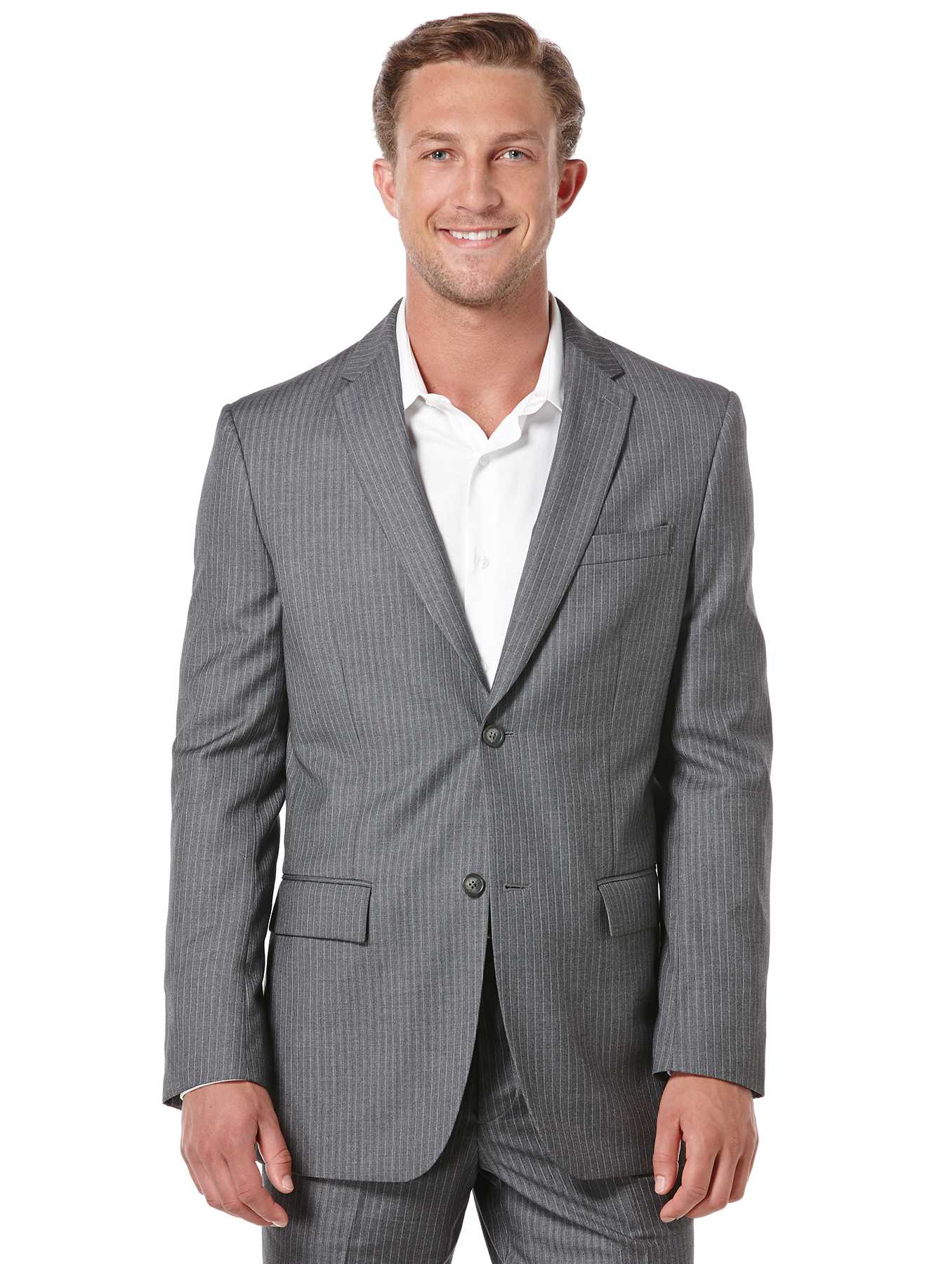 Perry Ellis Classic Fit Stripe Suit Jacket