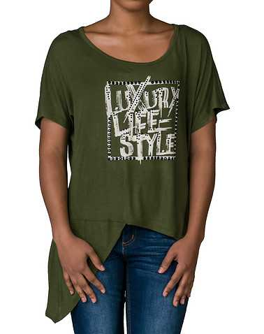LA BELLE ROC WOMENS Green Clothing / Tops S
