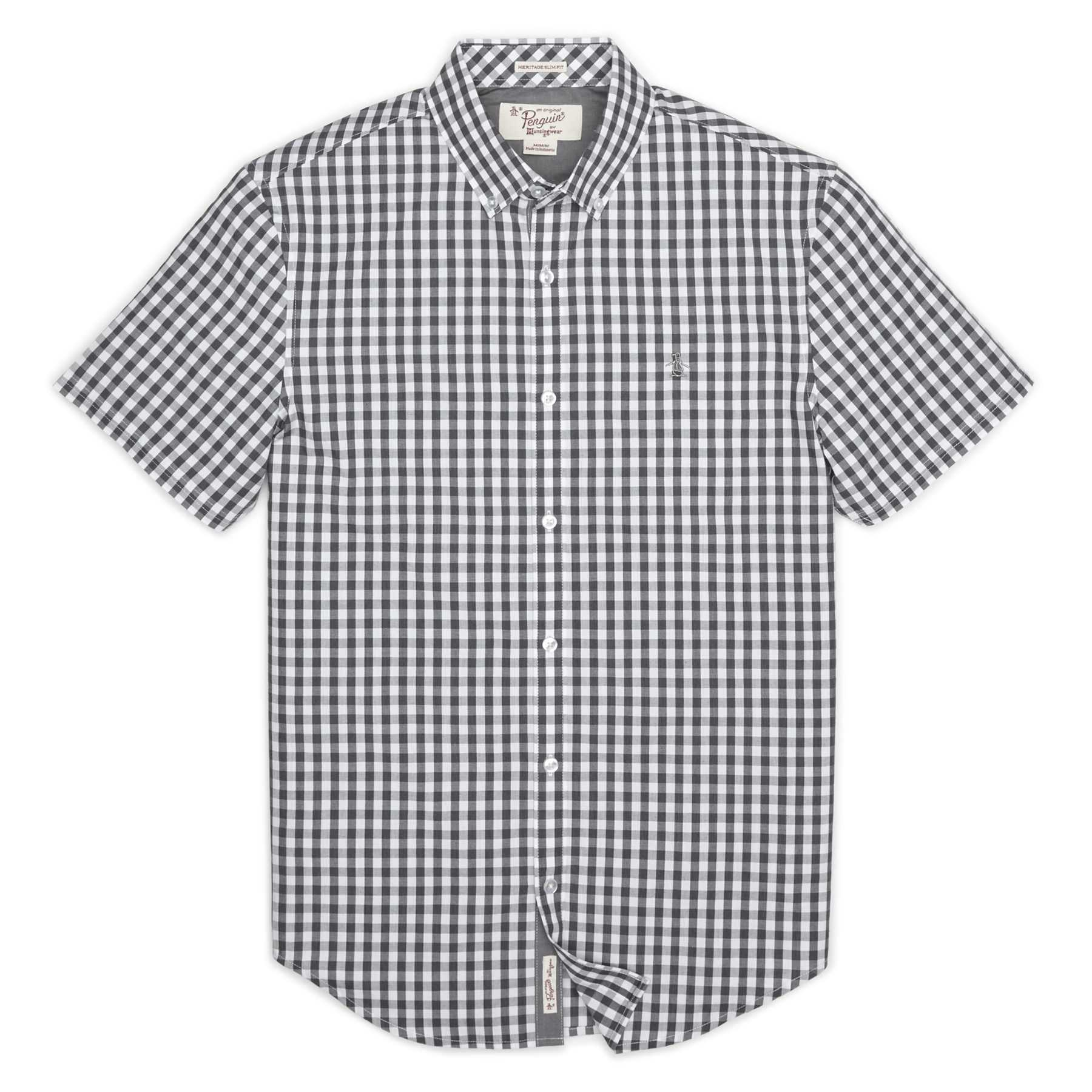 Original Penguin END ON END GINGHAM SHIRT