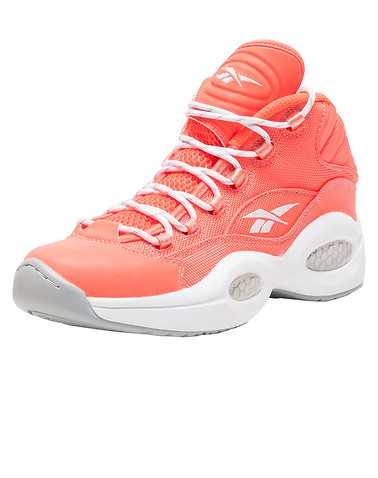 REEBOK MENS Orange Footwear / Sneakers