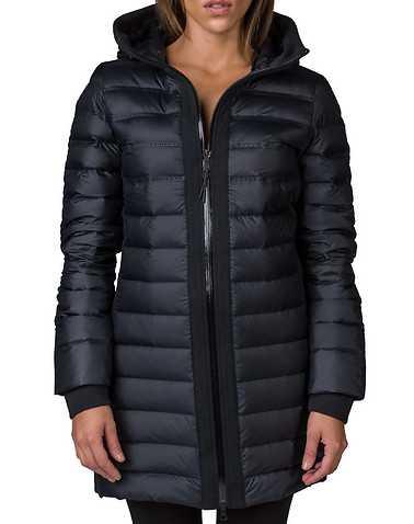 NIKE SPORTSWEAR WOMENS Black Clothing / Heavy Jackets M