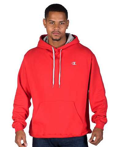 CHAMPION MENS Red Clothing / Hoodies