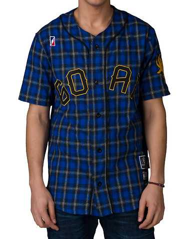 POST GAME MENS Blue Clothing / Tops S