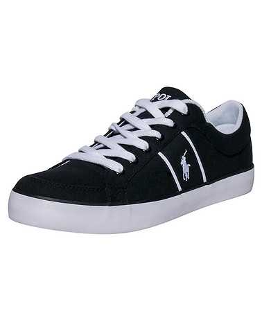 POLO FOOTWEAR MENS Black Footwear / Casual