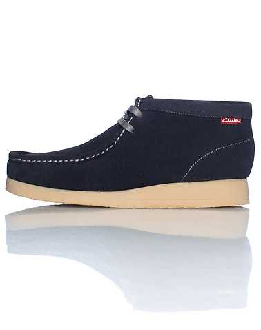CLARKS MENS Blue Footwear / Casual 9