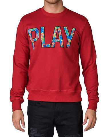 PLAY CLOTHS MENS Red Clothing / Sweatshirts XL