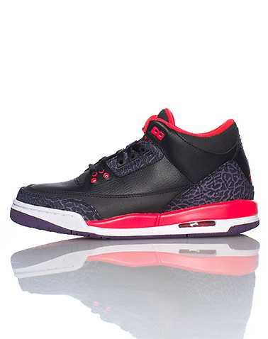 JORDAN BOYS Black Footwear / Sneakers 4Y