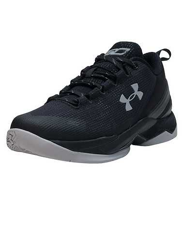 UNDER ARMOUR GIRLS Black Footwear / Sneakers