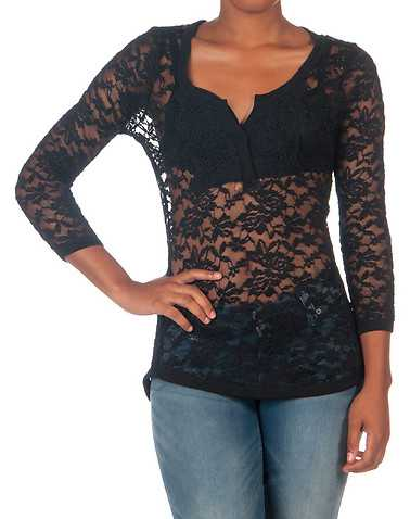ESSENTIALS WOMENS Black Clothing / Tops