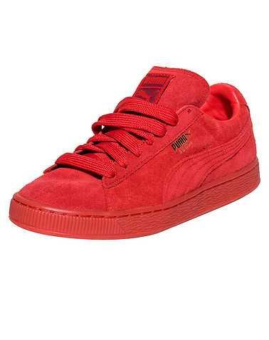 PUMA BOYS Red Footwear / Sneakers