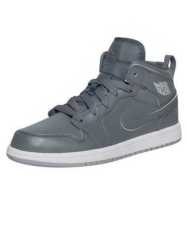 JORDAN BOYS Grey Footwear / Sneakers