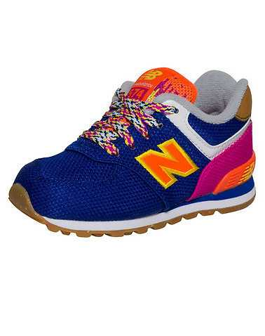 NEW BALANCE BOYS Purple Footwear / Sneakers