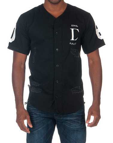 CIVIL MENS Black Clothing / Tops XL