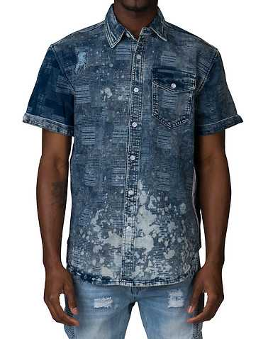 ALLSTON MENS Blue Clothing / Button Down Shirts S
