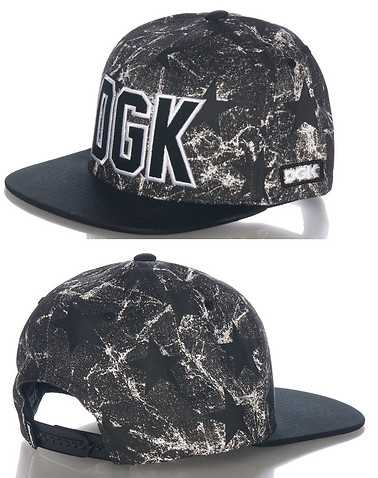 DGK MENS Black Accessories / Caps Snapback 0