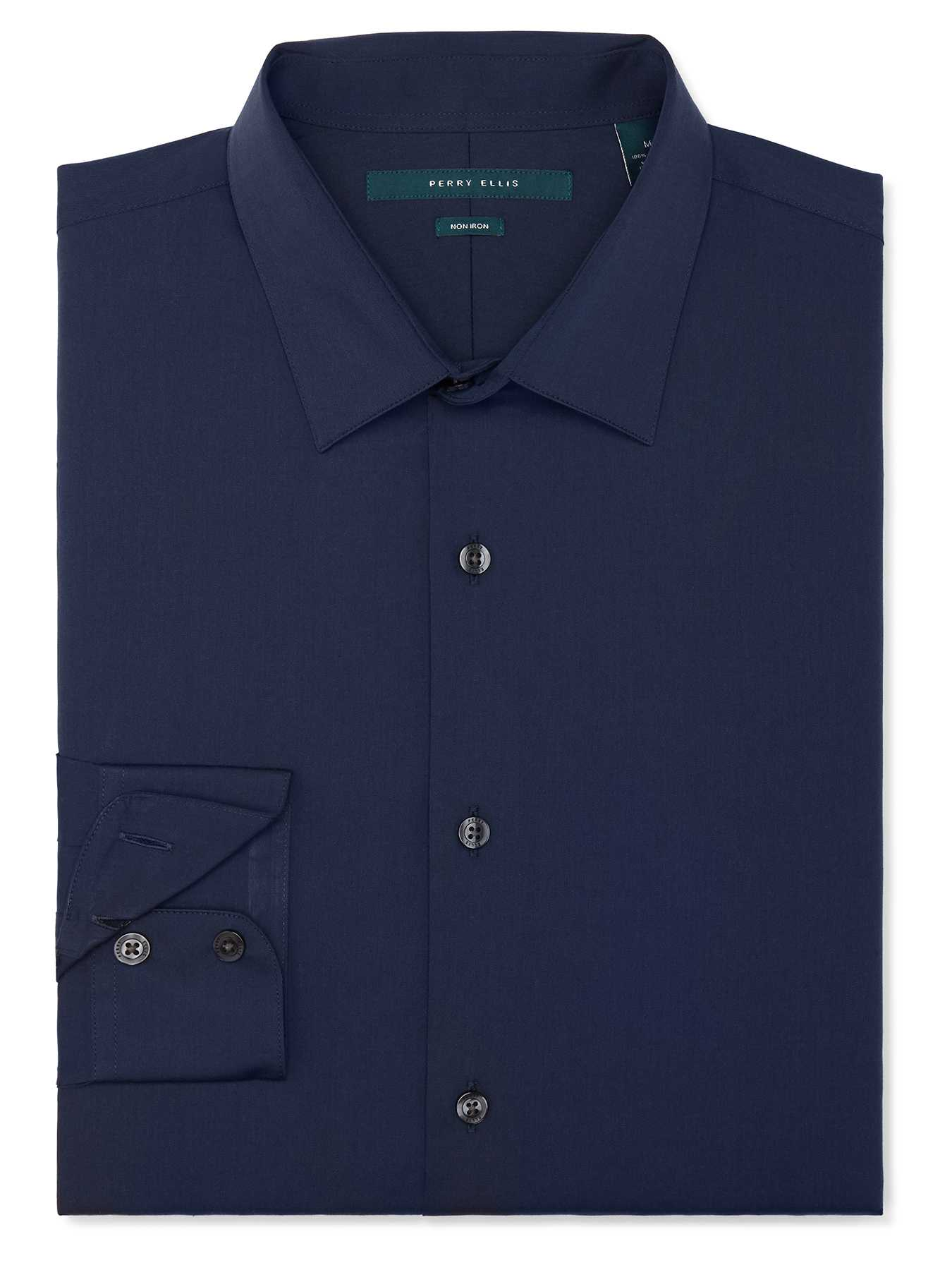 Perry Ellis Regular Fit Twill Shirt