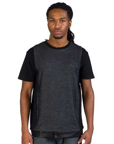 FORTE MENS Black Clothing / Tees and Polos XL