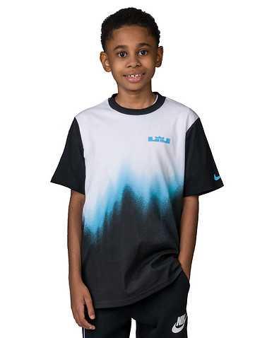NIKE BOYS Multi-Color Clothing / Short Sleeve T-Shirts L / 6
