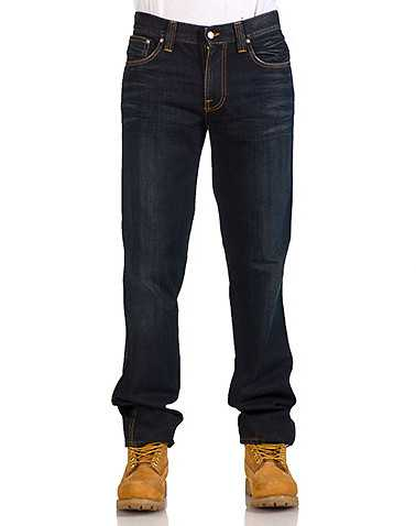 NUDIE MENS Dark Blue Clothing / Jeans 34
