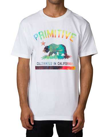 PRIMITIVE MENS White Clothing / Tops