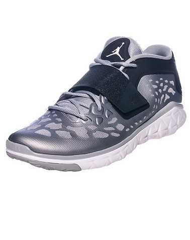JORDAN MENS Silver Footwear / Sneakers