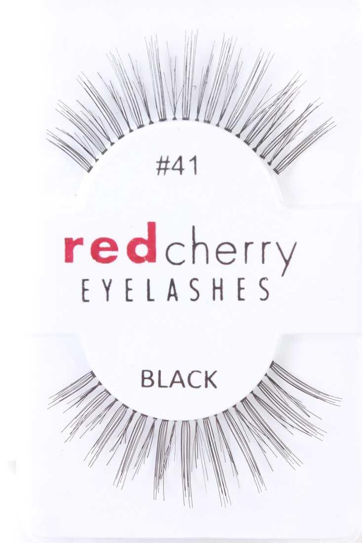 Black Thick Long Glamour Human Hair Eyelashes