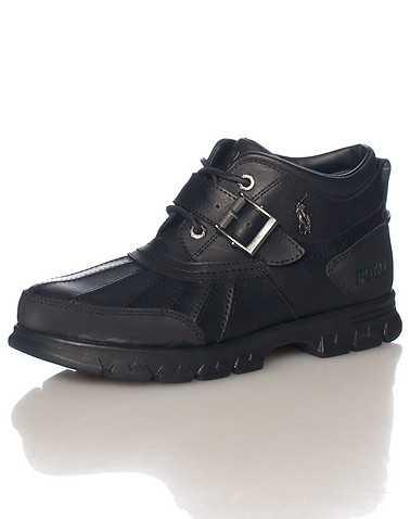 POLO FOOTWEAR MENS Black Footwear / Boots 9