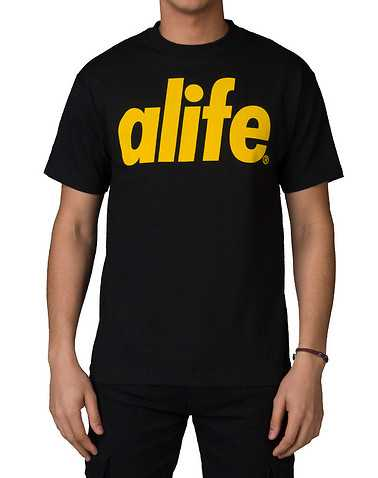 ALIFE MENS Black Clothing / Tops S