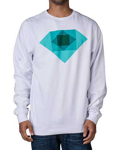 DIAMOND SUPPLY COMPANY MENS White Clothing / Sweatshirts XXL