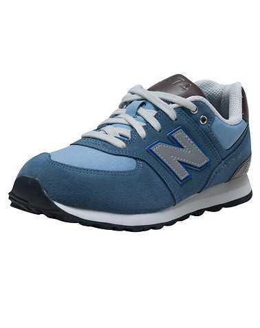 NEW BALANCE GIRLS Medium Blue Footwear / Sneakers
