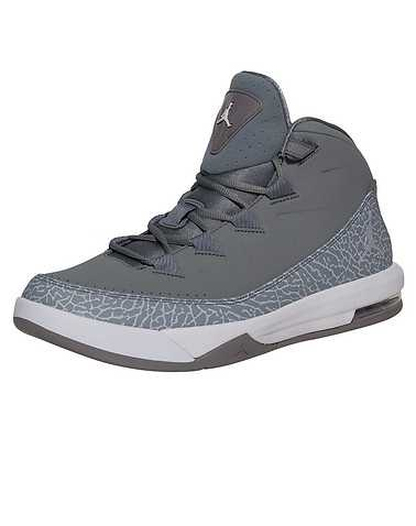 JORDAN MENS Grey Footwear / Sneakers