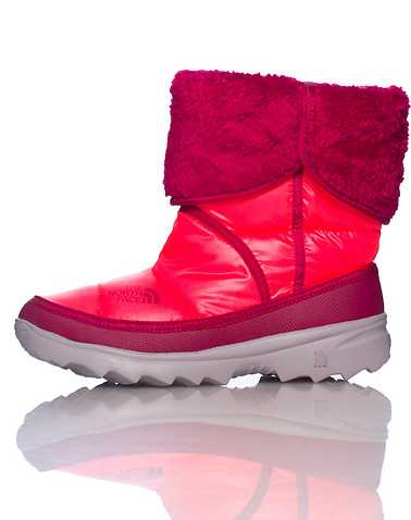 THE NORTH FACE GIRLS Medium Red Footwear / Boots