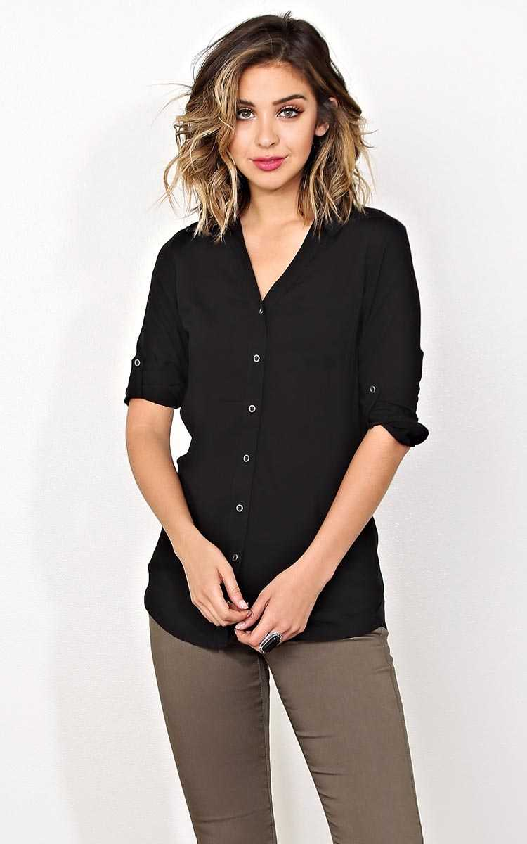 Classic Day By Day Button Up - - in Size by Styles For Less
