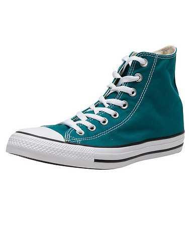CONVERSE WOMENS Medium Green Footwear / Casual