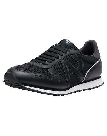 ARMANI JEANS MENS Black Footwear / Casual