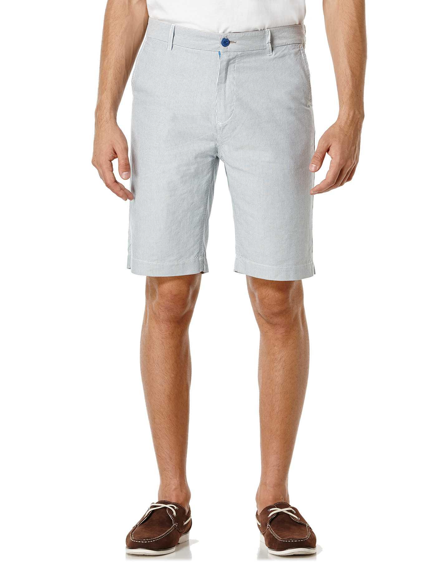 Cubavera 100% Cotton Stripe Short
