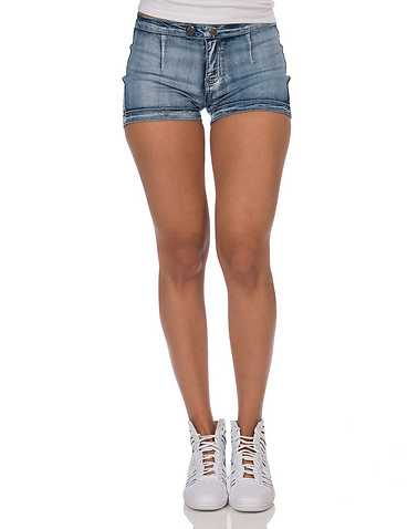 GNH TEXTILES TRADING WOMEN WOMENS Blue Clothing / Denim Shorts